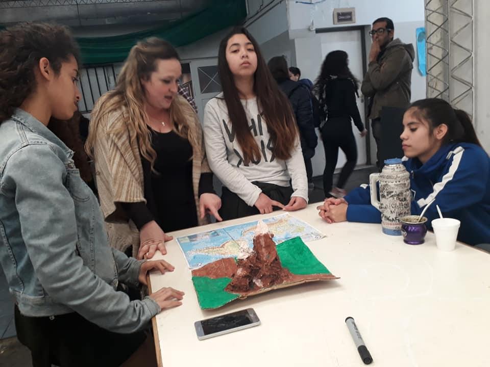 Alumnos con Paola